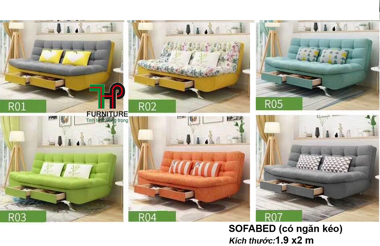 Sofabed Ngăn Kéo - HTP-MTBED.NK01-07