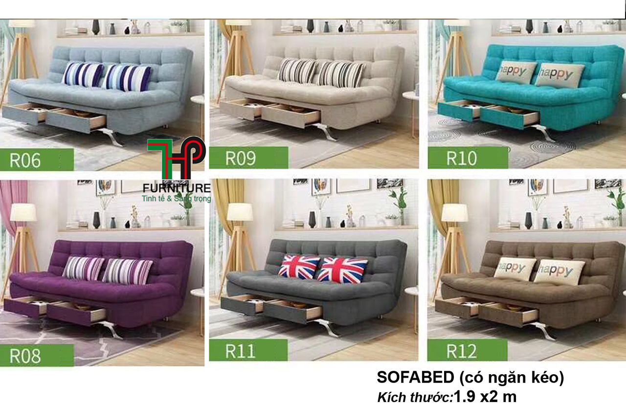 Sofabed Ngăn Kéo - HTP-MTBED.NK06-12