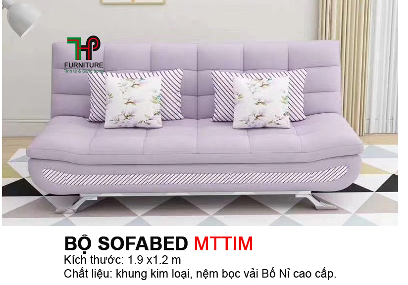 Sofabed 4 gối HTP-MTBED.MTTIM