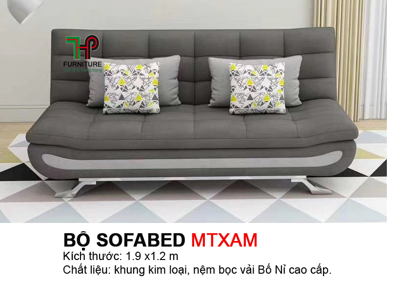 Sofabed 4 gối HTP-MTBED.MTXAM
