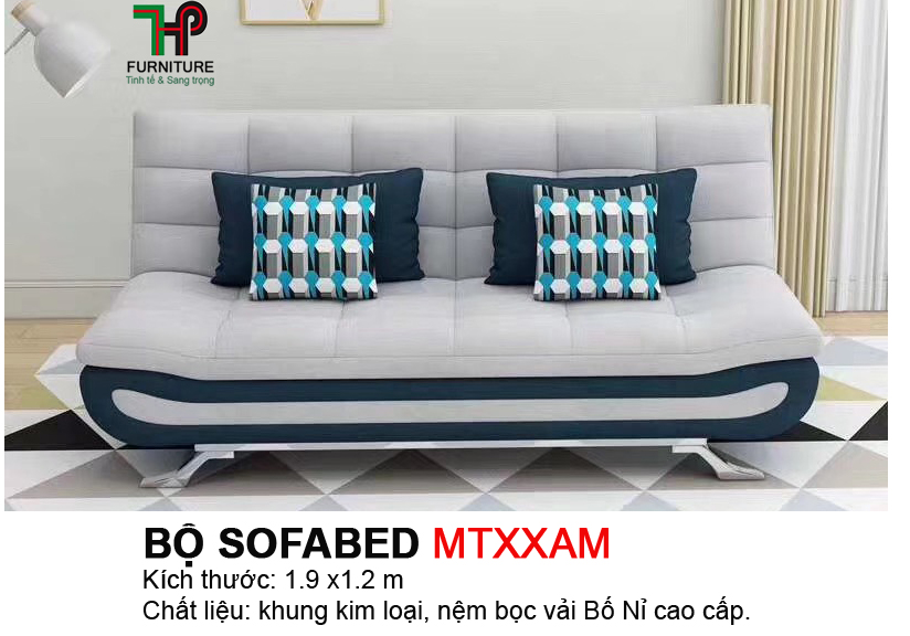 Sofabed 4 gối HTP-MTBED.MTXXAM