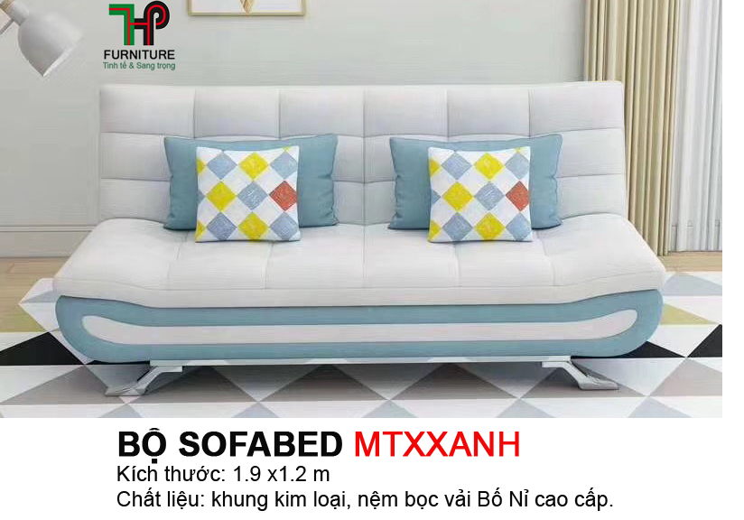 Sofabed 4 gối HTP-MTBED.MTXXANH